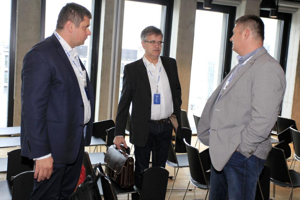 Media publiczne: Marcin Klepacki, Paweł Paluch, Marcin Wiśniewski